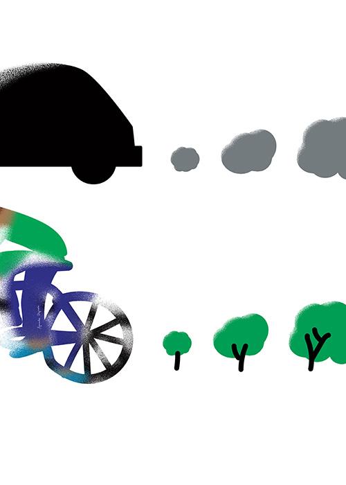 Agnieszka Dajczak (PL) - Bike vs Car