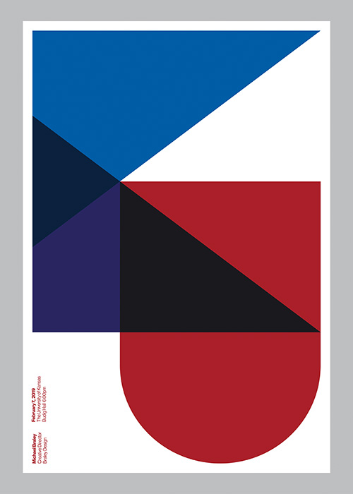 Michael Braley (US) - University of Kansas KU Lecture Poster